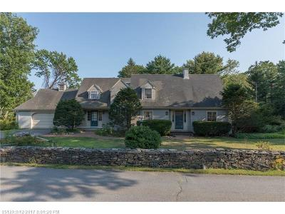 Scarborough, Cape Elizabeth, Falmouth, Yarmouth, Saco, Old Orchard Beach, Kennebunkport, Wells, Arrowsic, Kittery Single Family Home For Sale: 105 Delano Park