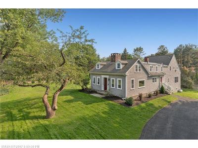 Scarborough, Cape Elizabeth, Falmouth, Yarmouth, Saco, Old Orchard Beach, Kennebunkport, Wells, Arrowsic, Kittery Single Family Home For Sale: 100 Johnson Rd