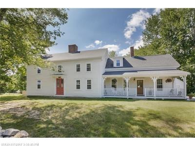 Kennebunk Single Family Home For Sale: 756 Alewive Rd