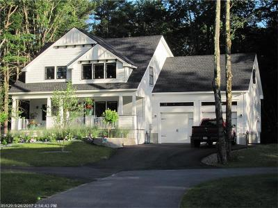Kennebunkport Single Family Home For Sale: 98 Mills