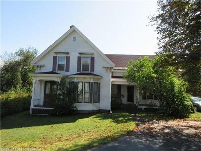 Hampden Single Family Home For Sale: 169 Main Road South