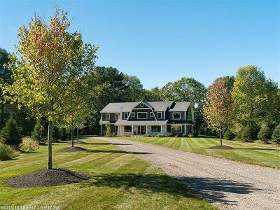 Scarborough, Cape Elizabeth, Falmouth, Yarmouth, Saco, Old Orchard Beach, Kennebunkport, Wells, Arrowsic, Kittery Single Family Home For Sale: 777 Princes Point Rd