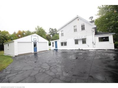 Bangor ME Single Family Home For Sale: $102,500