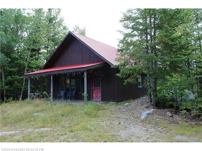 Upper Enchanted Twp ME Single Family Home For Sale: $130,000