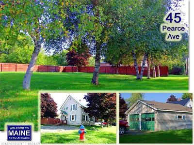 Houlton Single Family Home For Sale: 45 Pearce Ave