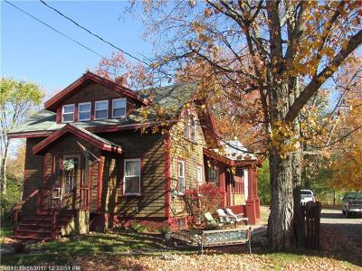 Houlton Single Family Home For Sale: 11 & 13 Randall Ave