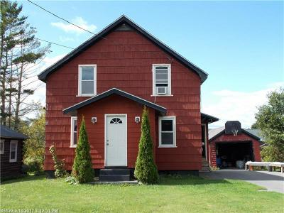 Presque Isle ME Single Family Home For Sale: $77,500