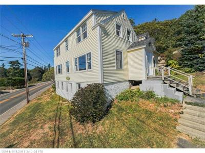 Single Family Home For Sale: 190 Ocean Point Rd