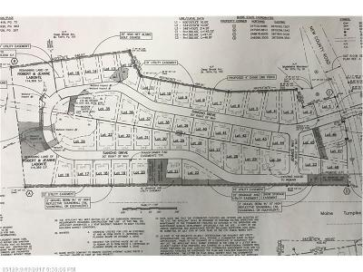 York County, Cumberland County Residential Lots & Land For Sale: Lot 20 Sancho Dr