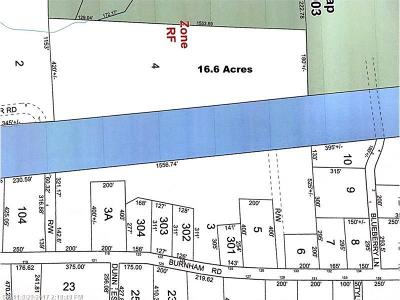 Scarborough Residential Lots & Land For Sale: 0 Off Burnham Road