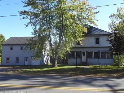 Milo Single Family Home For Sale: 140 Riverside St