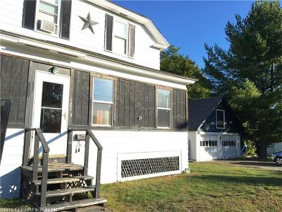 Millinocket Single Family Home For Sale: 121 Poplar St