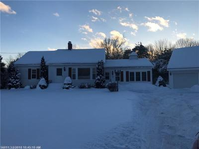 Kennebunk Single Family Home For Sale: 20 Ross Rd