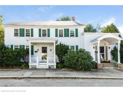 Kennebunk Single Family Home For Sale: 9 Dane St