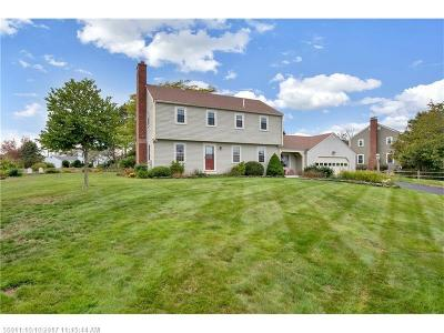Scarborough, Cape Elizabeth, Falmouth, Yarmouth, Saco, Old Orchard Beach, Kennebunkport, Wells, Arrowsic, Kittery Single Family Home For Sale: 2 Roundabout Ln