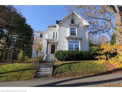 Bangor ME Single Family Home For Sale: $248,500