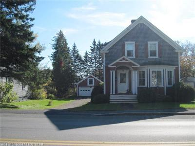 Presque Isle ME Single Family Home For Sale: $114,900