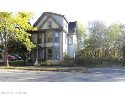 Bangor ME Multi Family Home For Sale: $39,900