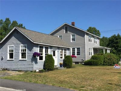 Scarborough ME Single Family Home For Sale: $268,000