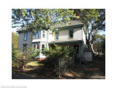 Bangor ME Single Family Home For Sale: $19,900