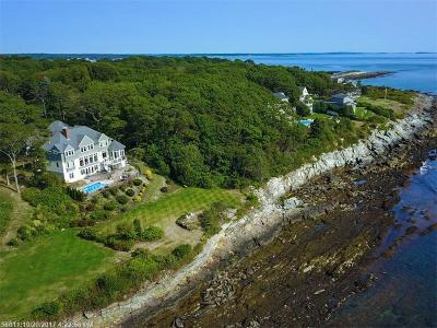 Scarborough, Cape Elizabeth, Falmouth, Yarmouth, Saco, Old Orchard Beach, Kennebunkport, Wells, Arrowsic, Kittery Single Family Home For Sale: 19 Pilot Point Rd