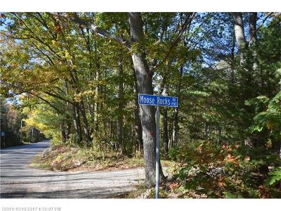 Residential Lots & Land For Sale: 00 Moose Rocks Rd