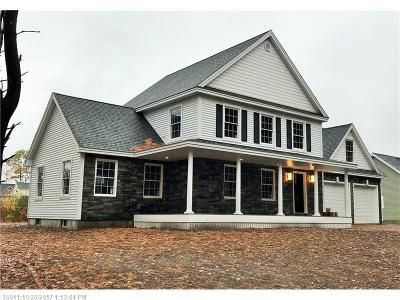 Scarborough, Cape Elizabeth, Falmouth, Yarmouth, Saco, Old Orchard Beach, Kennebunkport, Wells, Arrowsic, Kittery Single Family Home For Sale: 6 Leighton Farm Rd