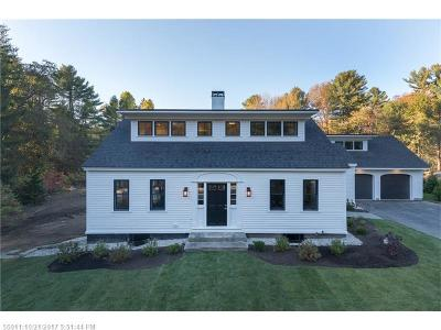 Scarborough, Cape Elizabeth, Falmouth, Yarmouth, Saco, Old Orchard Beach, Kennebunkport, Wells, Arrowsic, Kittery Single Family Home For Sale: 154 Foreside Rd