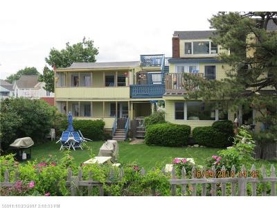 Old Orchard Beach Multi Family Home For Sale: 1 Camp Comfort Ave