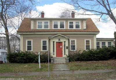 Bangor ME Single Family Home For Sale: $225,000
