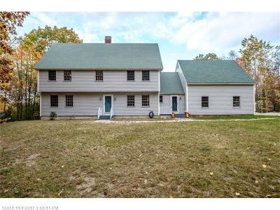 Waterboro Single Family Home For Sale: 763 West Rd