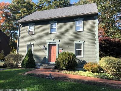 Kennebunk Single Family Home For Sale: 10 Tidewater Ct