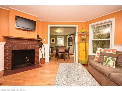 South Portland ME Single Family Home For Sale: $399,000