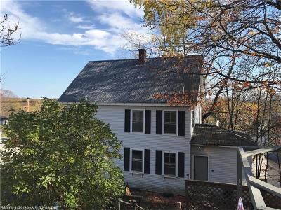Bangor ME Single Family Home For Sale: $88,499
