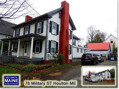 Houlton Single Family Home For Sale: 78 Military St
