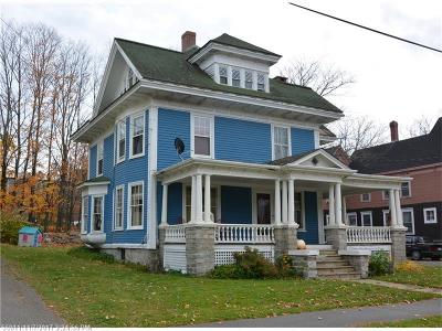 Houlton ME Single Family Home For Sale: $99,900