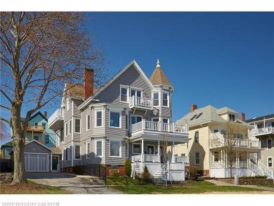 Single Family Home For Sale: 172-174 Eastern Promenade