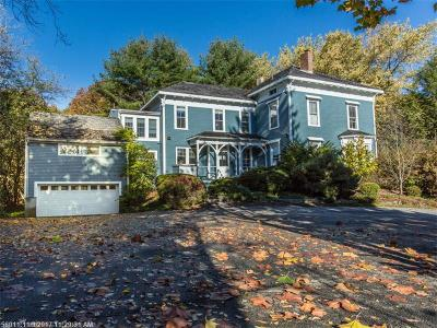 Scarborough, Cape Elizabeth, Falmouth, Yarmouth, Saco, Old Orchard Beach, Kennebunkport, Wells, Arrowsic, Kittery Single Family Home For Sale: 3 Marina Rd