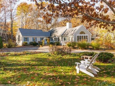 Ogunquit Single Family Home For Sale: 29 Abenaki Ln