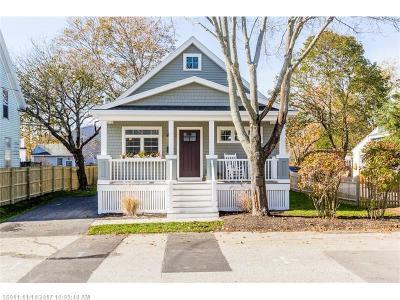 South Portland ME Single Family Home For Sale: $329,000