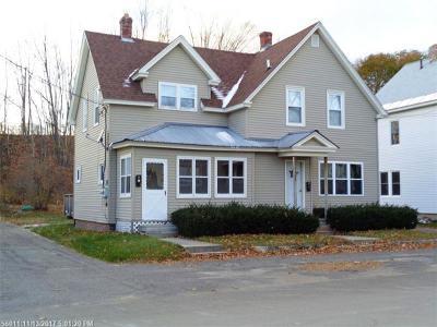 Millinocket Multi Family Home For Sale: 366 Penobscot Ave
