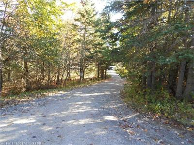Gouldsboro Residential Lots & Land For Sale: Lot 5 Justin Ln