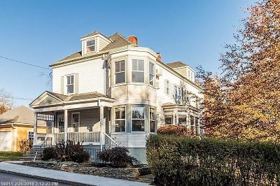 Portland ME Single Family Home For Sale: $639,000