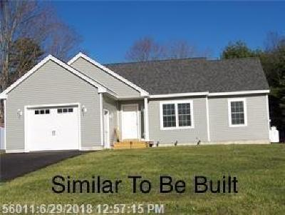 York County, Cumberland County Single Family Home For Sale: Lot 5 Meredith Dr