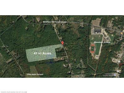 York County, Cumberland County Residential Lots & Land For Sale: Tbd Federal