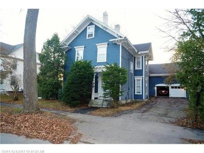 Bangor Single Family Home For Sale: 306 Essex St