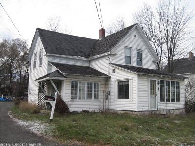 Presque Isle ME Single Family Home For Sale: $52,000