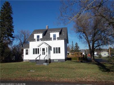Fort Fairfield Single Family Home For Sale: 3 Hunt St