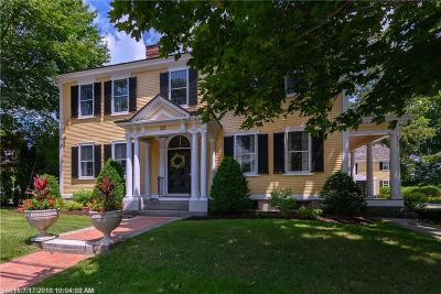 Kennebunk Single Family Home For Sale: 22 Summer St