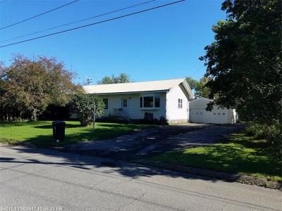 Presque Isle ME Single Family Home For Sale: $115,000